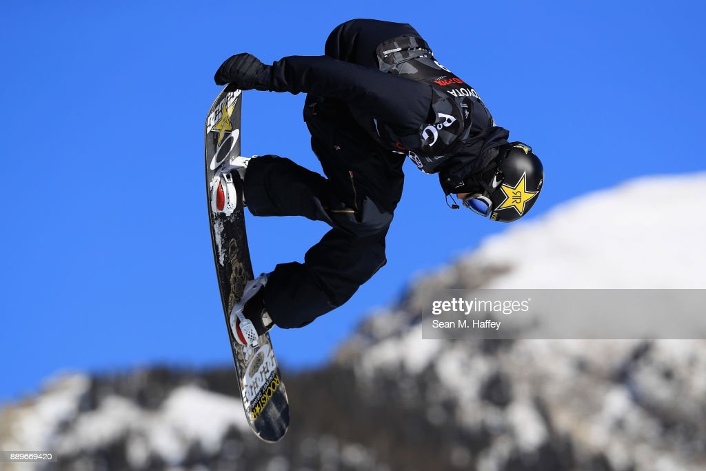 Mons Roisland of Norway competes in the final of the FIS Snowboard World Cup 2018 Men's Big Air during the Toyota U.S. Grand Prix on December 10, 2017 in Copper Mountain, Colorado. Roisland finished in first place.