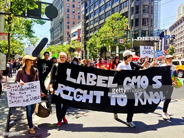 Monsanto and Genetically Modified Food Protest in San Francisco
