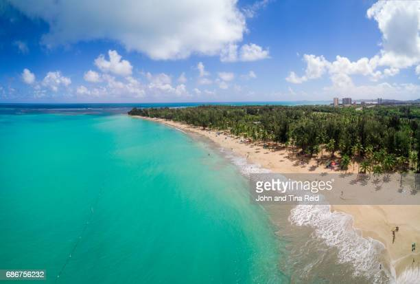 monserrate beach - puerto rico stock pictures, royalty-free photos & images