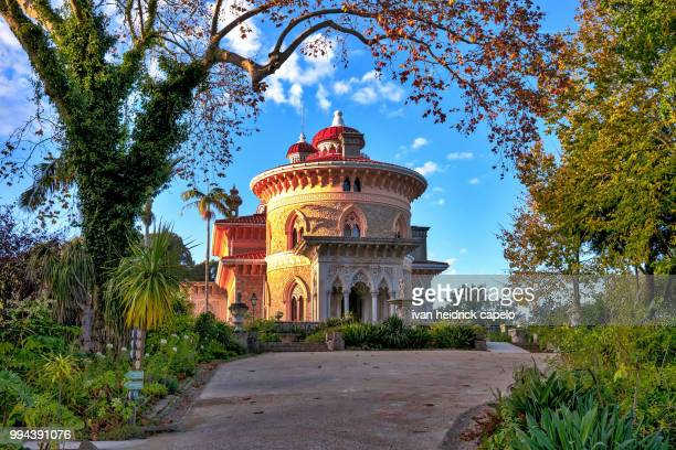 monserrate (sintra) - sintra stock pictures, royalty-free photos & images