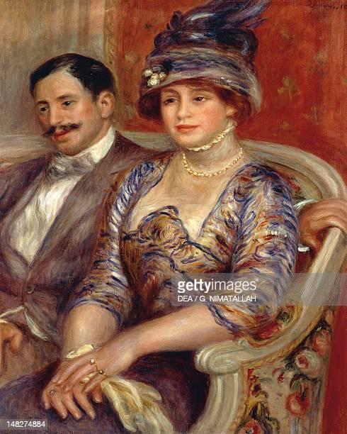 Monsieur et Madame Gaston Bernheim de Villers by Pierre-Auguste Renoir . ; Paris, Musée D'Orsay .