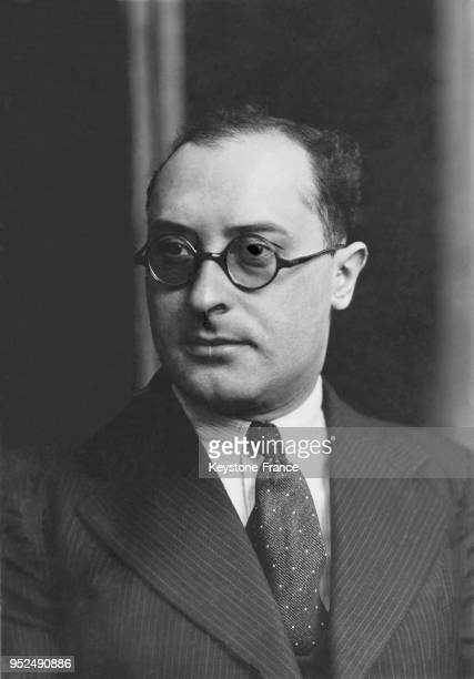 Monsieur Jean ZAY Minsitre de l'Education Nationale dans le gouvernement de Leon Blum 19360605 Mr Jean ZAY National Education minister in Leon Blum...
