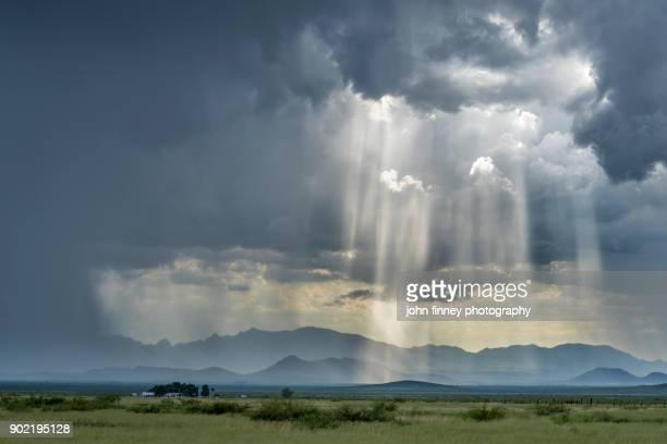 Monsoon over south Arizona, USA
