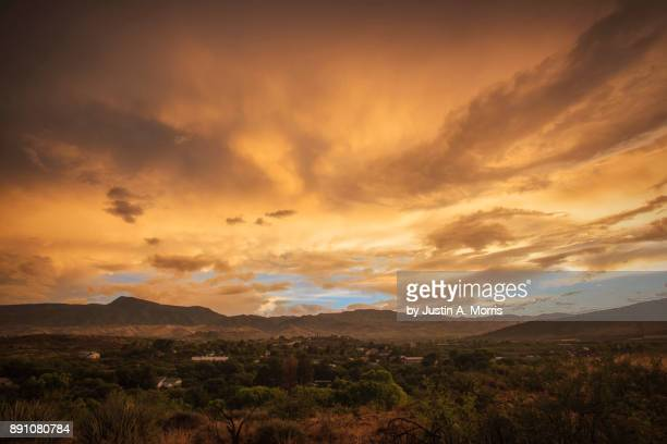 Monsoon Sunset over the Verde Valley