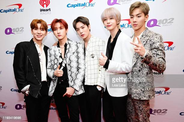 Monsta X attends Q102's Jingle Ball 2019 Presented by Capital One at Wells Fargo Center on December 11 2019 in Philadelphia Pennsylvania