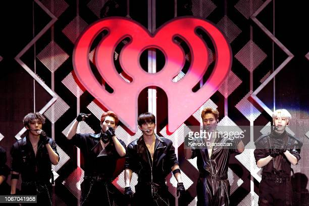 Monsta X performs onstage during 1027 KIIS FM's Jingle Ball 2018 Presented by Capital One at The Forum on November 30 2018 in Inglewood California
