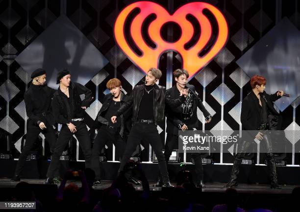 Monsta X performs onstage during iHeartRadio's Z100 Jingle Ball 2019 at Madison Square Garden on December 13, 2019 in New York City.