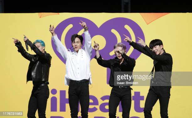 Monsta X performs onstage during the Daytime Stage at the 2019 iHeartRadio Music Festival held at the Las Vegas Festival Grounds on September 21 2019...