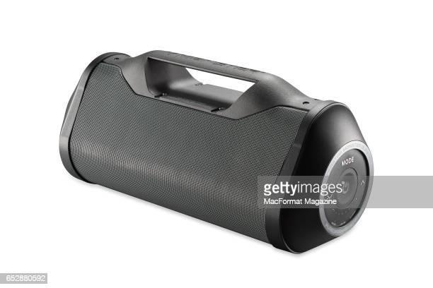 A Monster Blaster boombox speaker taken on June 29 2016