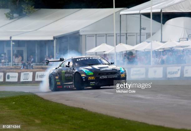 ''Monster Energy' car during the Goodwood festival of Speed at Goodwood on June 30th 2017 in Chichester England