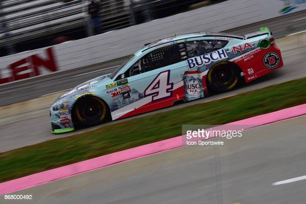 Monster Energy Chase contender Kevin Harvick Busch Beer Ford StewartHaas Racing on the track during the race at the NASCAR Playoff First Data 500 on...