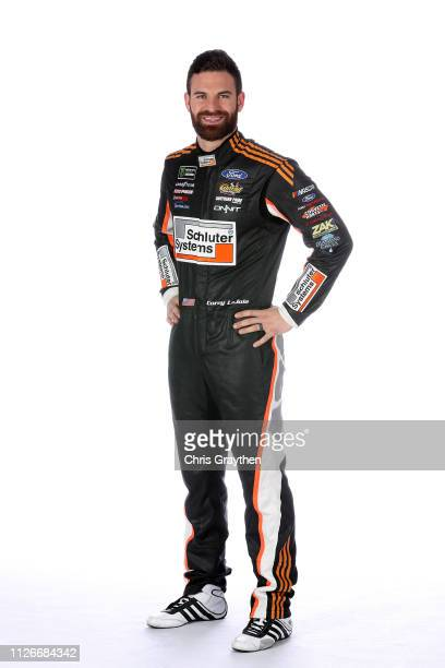 Monster Energy NASCAR Cup Series driver Corey LaJoie poses for a photo at the Charlotte Convention Center on January 30 2019 in Charlotte North...