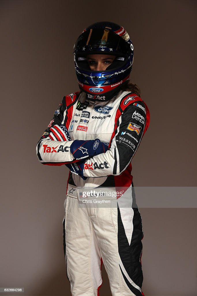 Monster Energy NASCAR Cup Series Driver Danica Patrick Poses For A