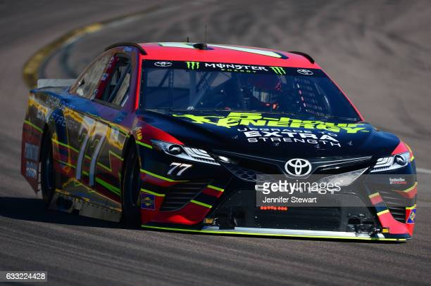 Monster Energy NASCAR Cup Series driver Erik Jones during a NASCAR testing at Phoenix International Raceway on January 31 2017 in Avondale Arizona