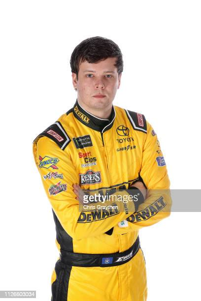 Monster Energy NASCAR Cup Series driver Erik Jones poses for a photo at the Charlotte Convention Center on January 28 2019 in Charlotte North Carolina