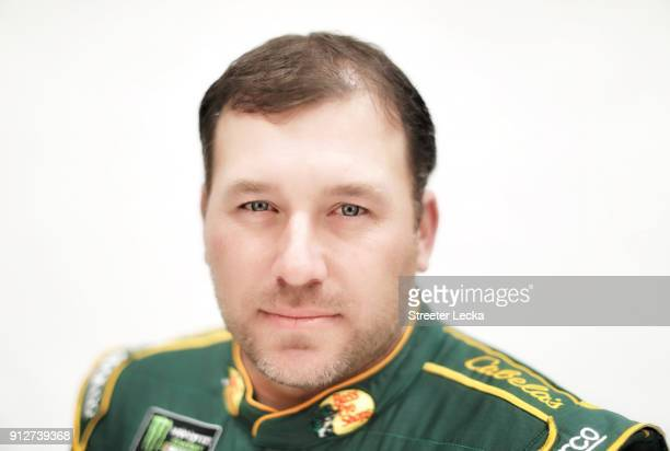 Monster Energy NASCAR Cup Series driver Ryan Newman poses for a portrait during the Monster Energy NASCAR Cup Series Media Tour at Charlotte...