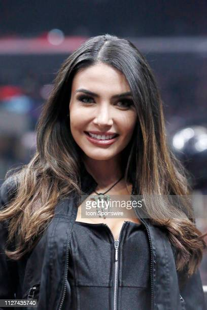 Monster Girl poses during the Professional Bull Riders Iron Cowboy presented by Ariat on February 23 at the Staples Center Los Angeles CA