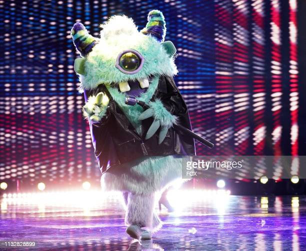 Monster in the Touchy Feely Clues episode of THE MASKED SINGER airing Wednesday Feb 6 on FOX