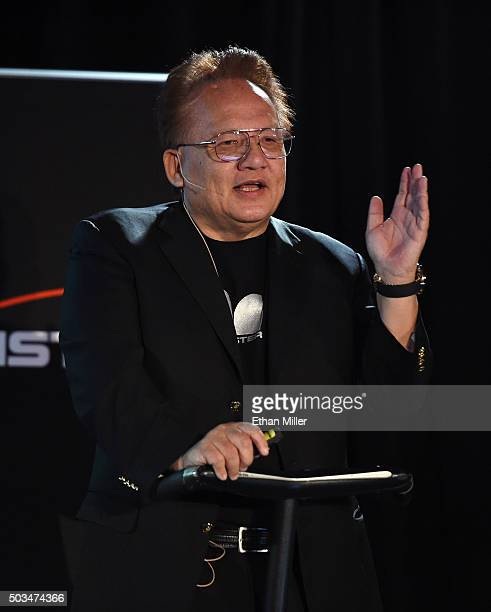 72fc75df2d1211 Monster Inc Founder and CEO Noel Lee speaks during a press event for CES  2016 at