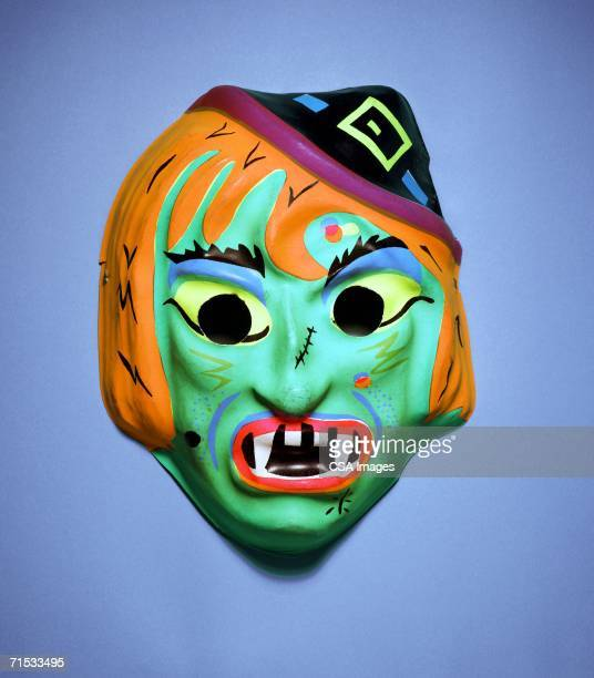 monster mask - ugly witches stock photos and pictures