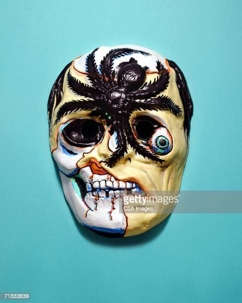 monster mask - ugly spiders stock photos and pictures
