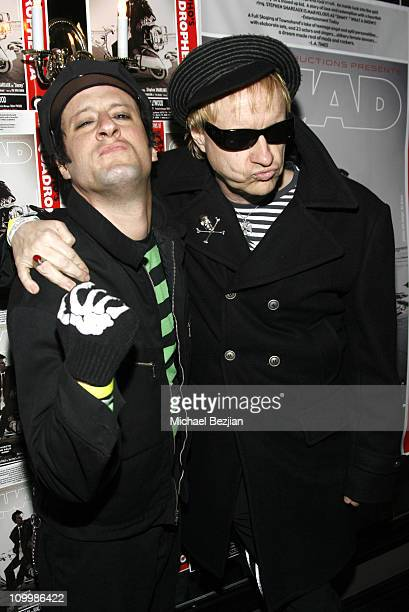 Monster Matt and Billy Bones during Quadrophenia Musical Theatre Performance at The Avalon in Hollywood California United States