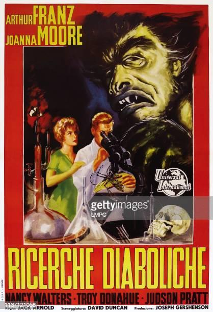 Monster On The Campus poster lr Joanna Moore Arthur Franz on Italian poster art 1958
