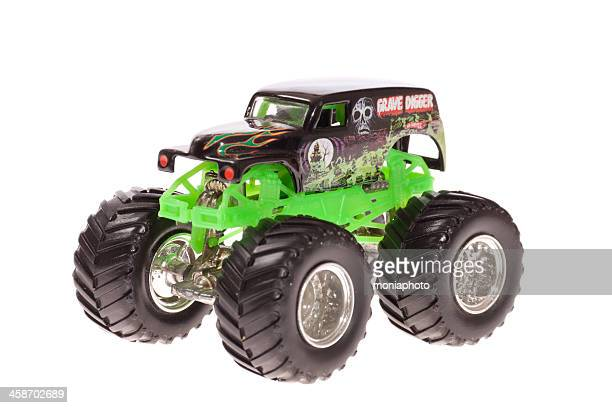 monster truck - grave digger - monster truck stock pictures, royalty-free photos & images
