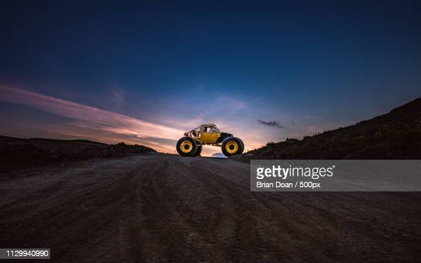 monster truck ready for adventure - monster truck stock pictures, royalty-free photos & images