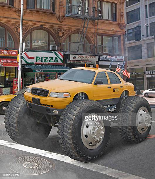 Monster Truck Taxi Cab