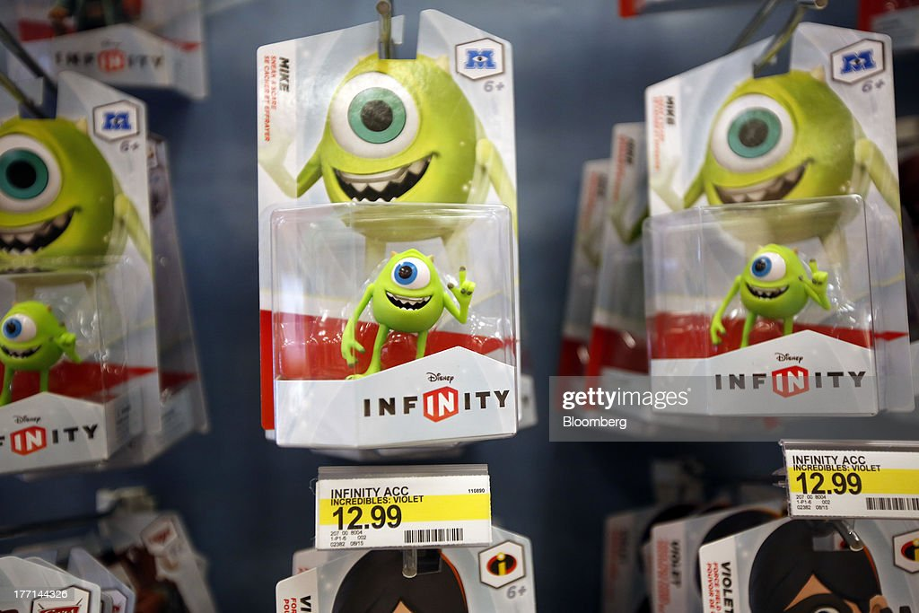 Monsters Inc  characters for Walt Disney Co 's Infinity video-game