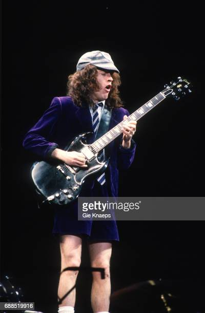 AC/DC Monsters of Rock Tour Angus Young ACDC Kiewit Hasselt Belgium
