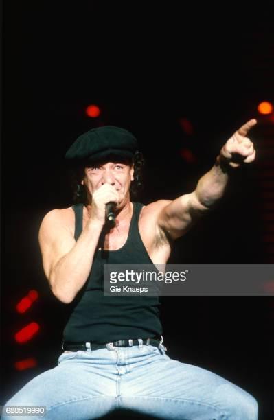 AC/DC Monsters of Rock Tour Brian Johnson ACDC Kiewit Hasselt Belgium