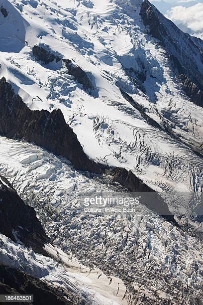 Mont Blanc Glacier, Chamonix, Haute Savoie, France