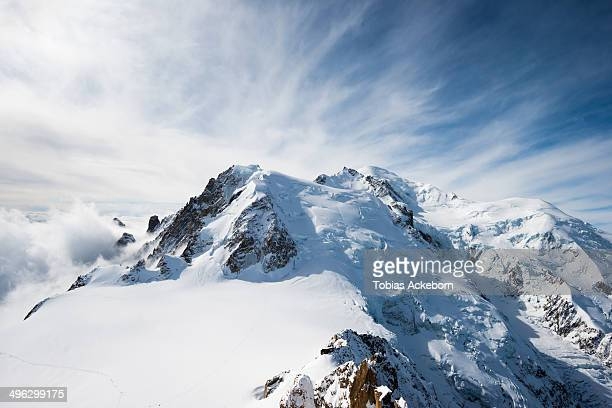 Mont Blanc in the Alps