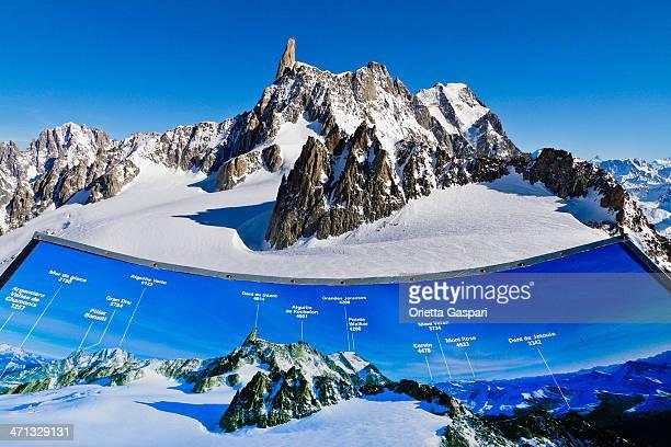 モンブラン山群 - クールマイヨール ストックフォトと画像