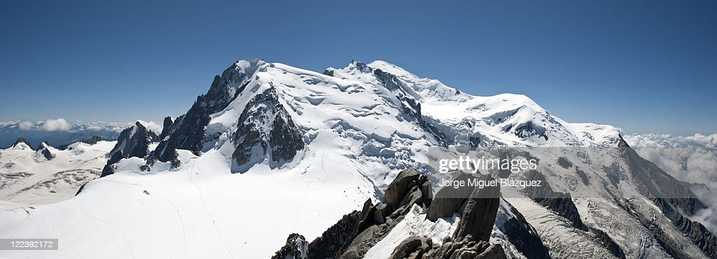 Mont Blanc : Foto de stock