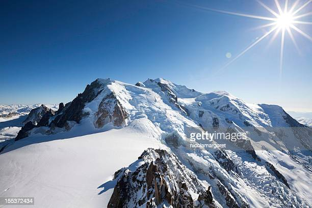mont blanc - mont blanc massif stock photos and pictures