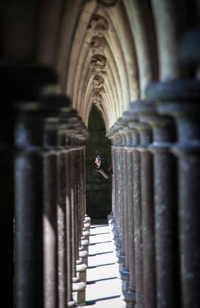 Mont Saint Michel arch