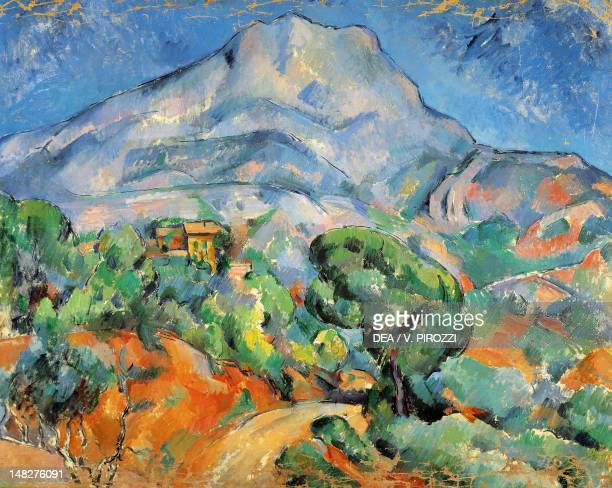 Mont SainteVictoir 189698 by Paul Cezanne San Pietroburgo Gosudarstvennyj Muzej Ermitaj