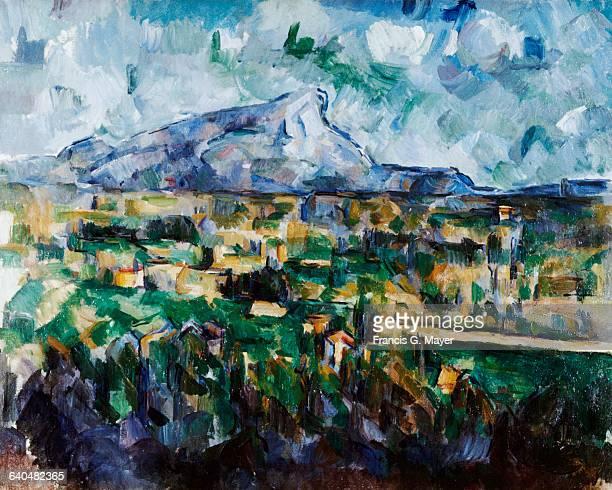 Mont SainteVictoire by Paul Cezanne