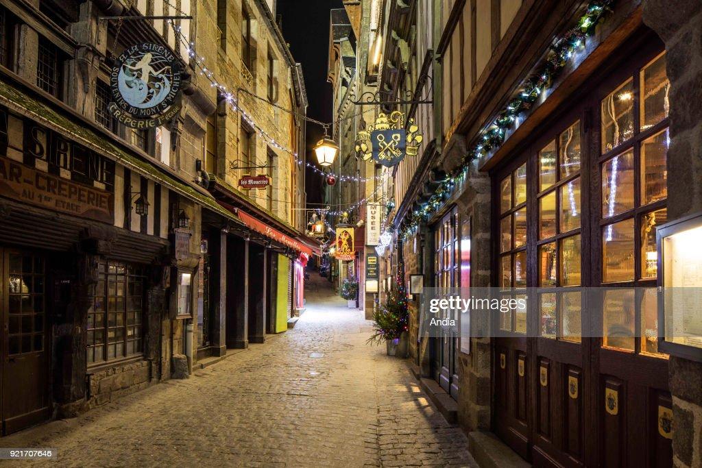 Le Mont Saint-Michel. : News Photo