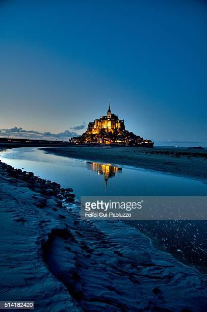 Mont Saint-Michel Normandy Region in France