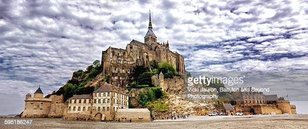 Mont St. Michel panorama Normandy France