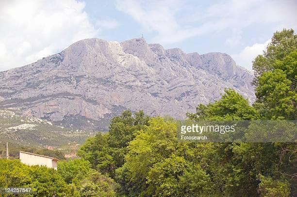 Mont Ste. Victoire, outside of Aix en Provence