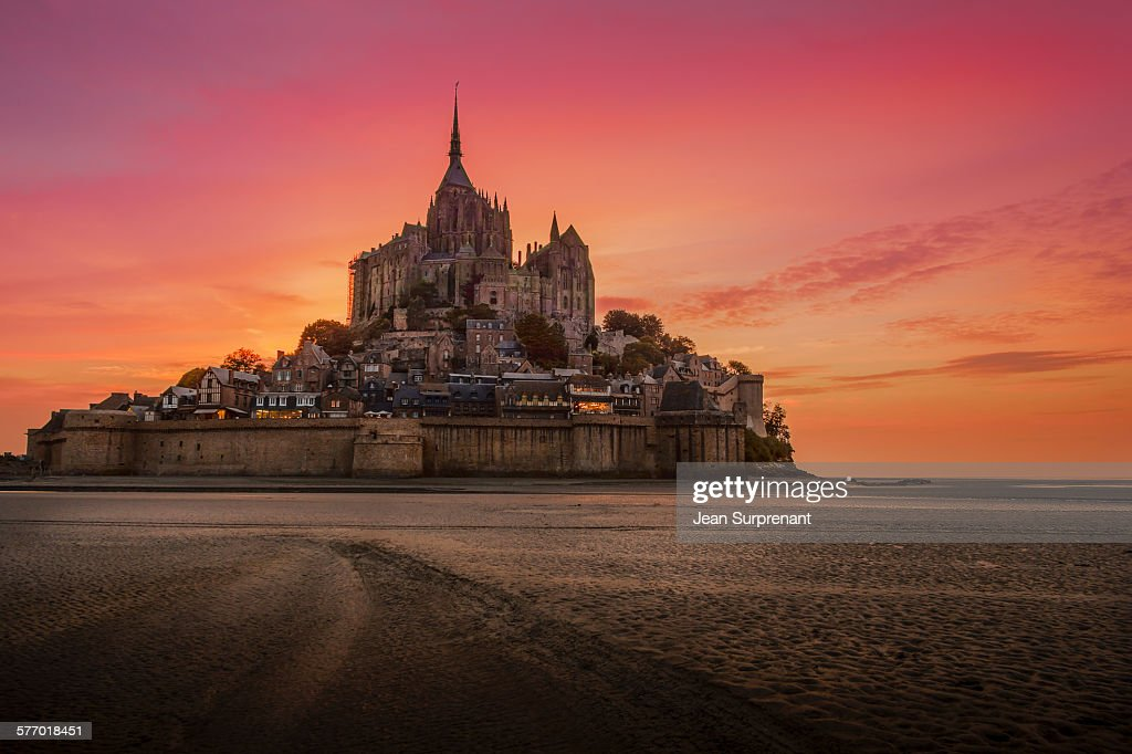 Mont St-Michel : Stock Photo