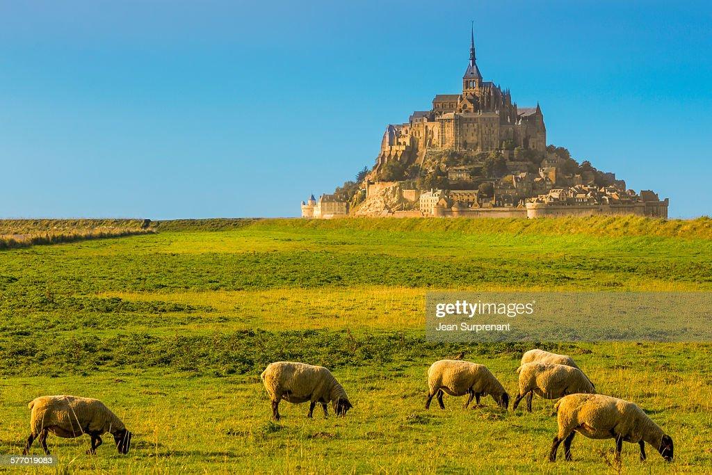 Mont St-Michel : Stock-Foto