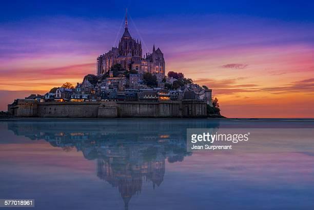 Mont St-Michel reflection