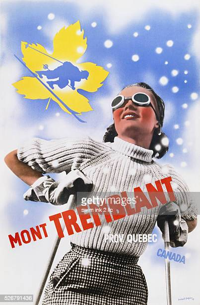 Mont Tremblant Travel Poster by Herbert Bayer