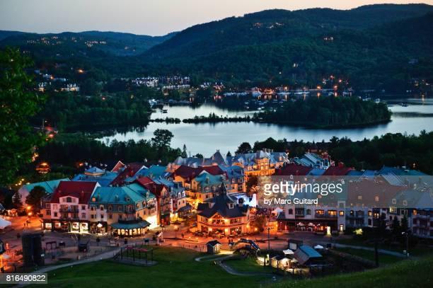 Mont Tremblant Village, Quebec, Canada